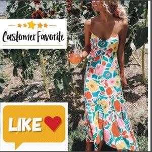 Dresses & Skirts - ❣️HOST PICK 5⭐️RATED ❌Floral Boho dress